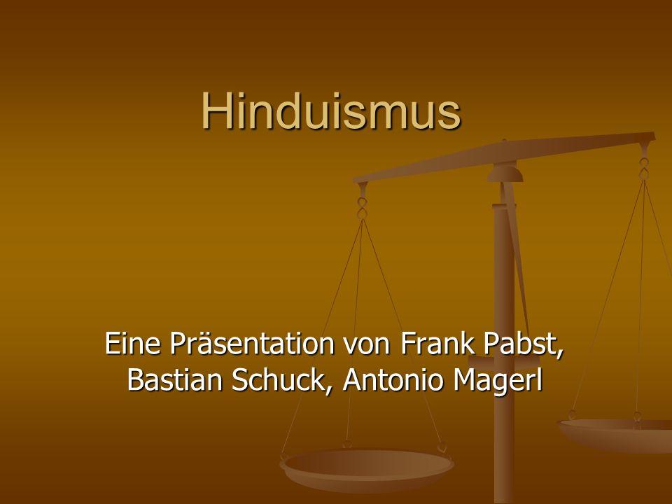 Eine Präsentation von Frank Pabst, Bastian Schuck, Antonio Magerl