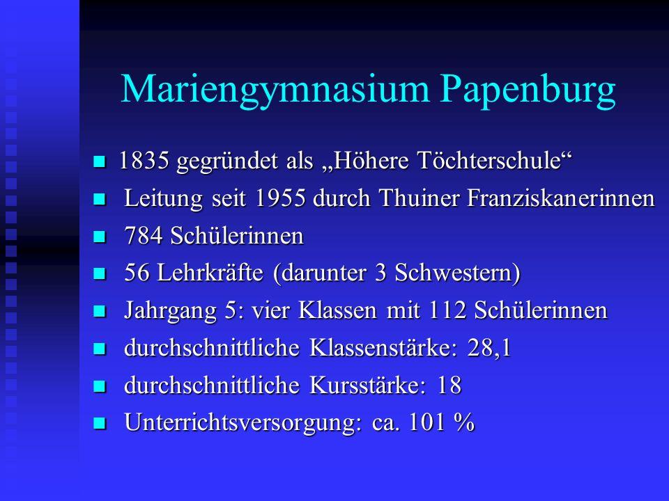 Mariengymnasium Papenburg