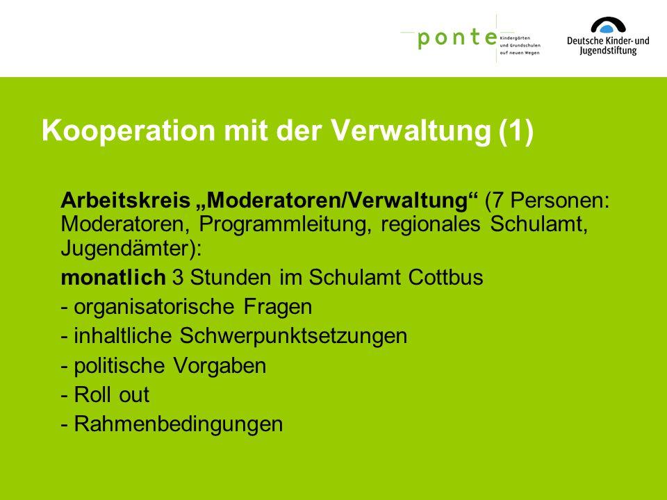 Kooperation mit der Verwaltung (1)