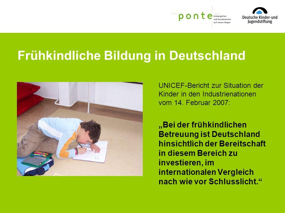 Frühkindliche Bildung in Deutschland
