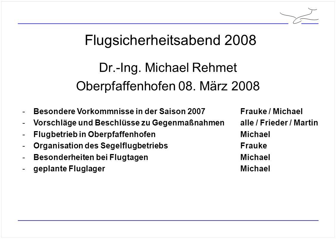 Flugsicherheitsabend 2008