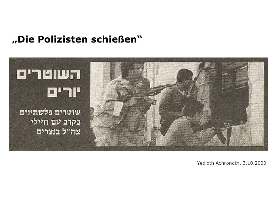 """""""Die Polizisten schießen"""