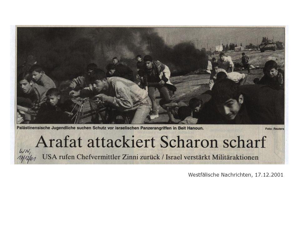 Westfälische Nachrichten, 17.12.2001