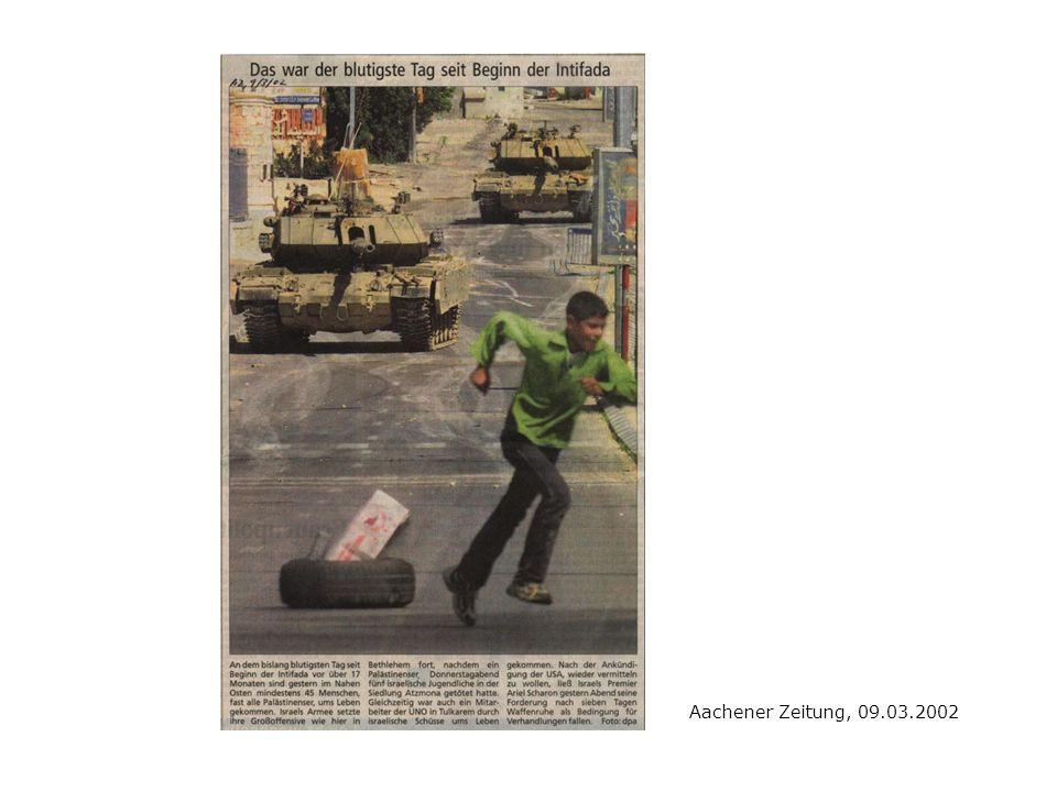 Aachener Zeitung, 09.03.2002
