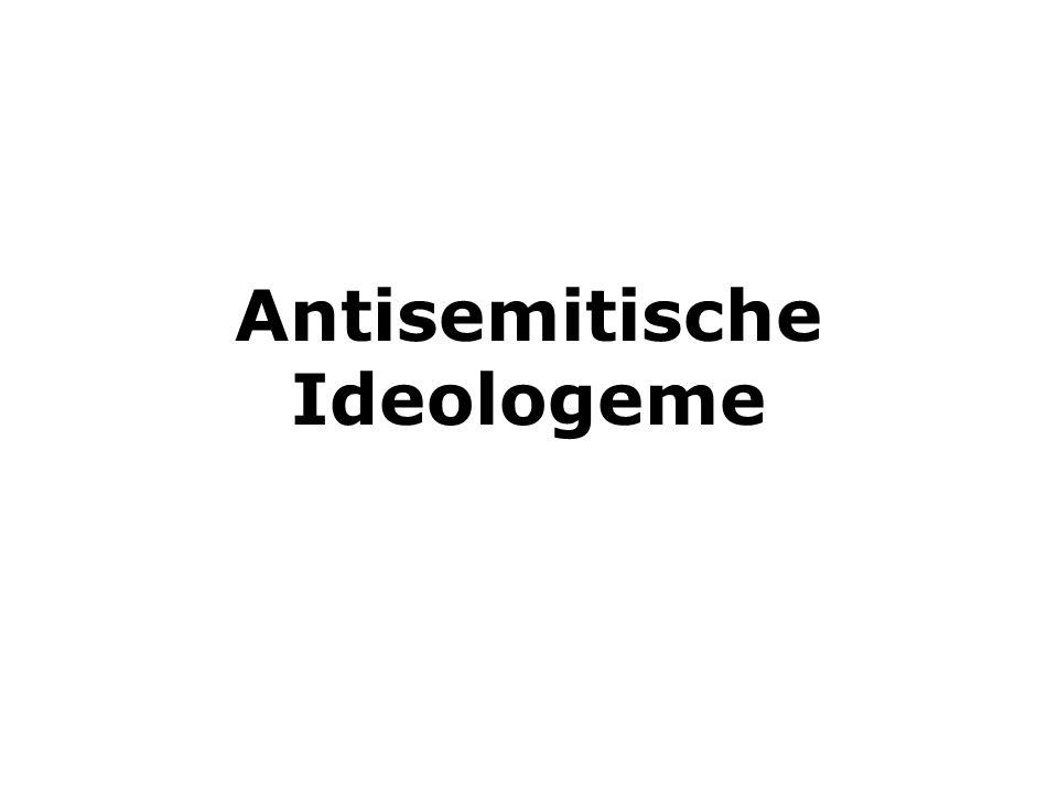 Antisemitische Ideologeme