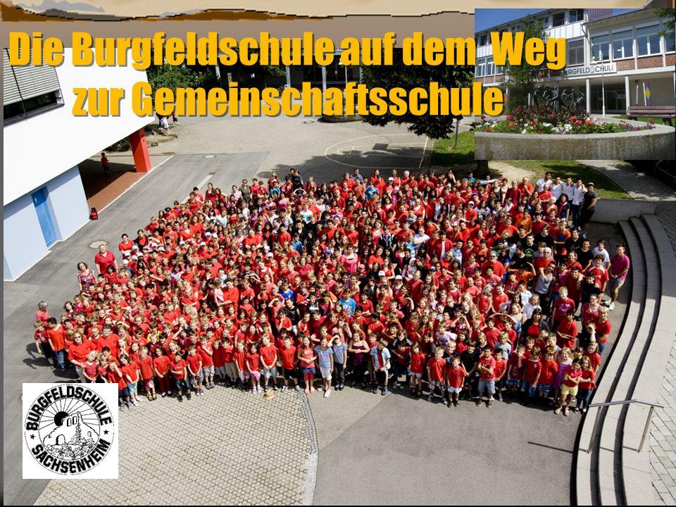 Die Burgfeldschule auf dem Weg zur Gemeinschaftsschule