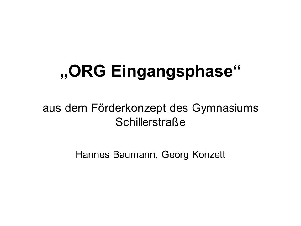Hannes Baumann, Georg Konzett