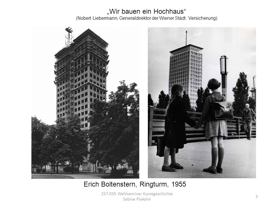 """""""Wir bauen ein Hochhaus"""