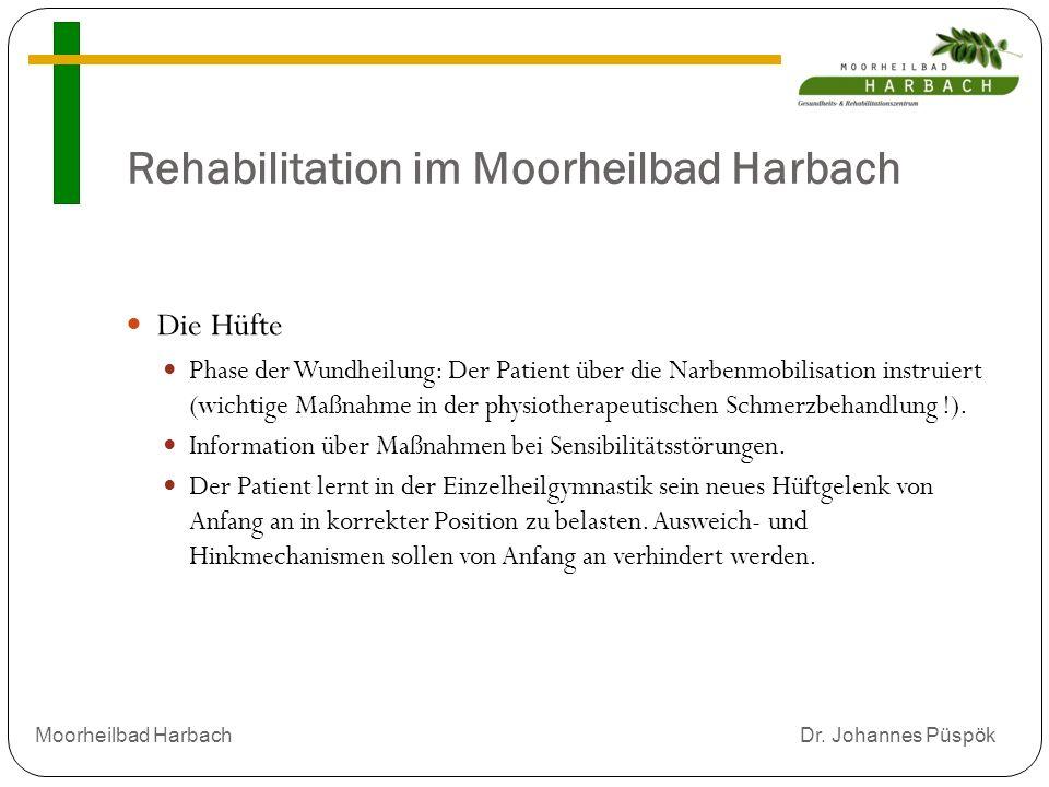 Rehabilitation im Moorheilbad Harbach