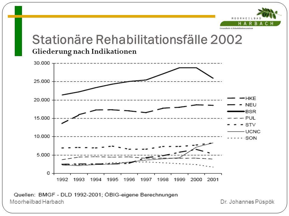 Stationäre Rehabilitationsfälle 2002
