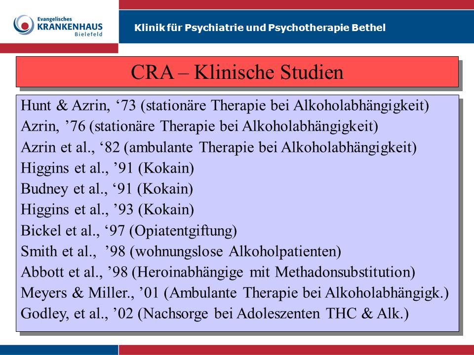 CRA – Klinische Studien