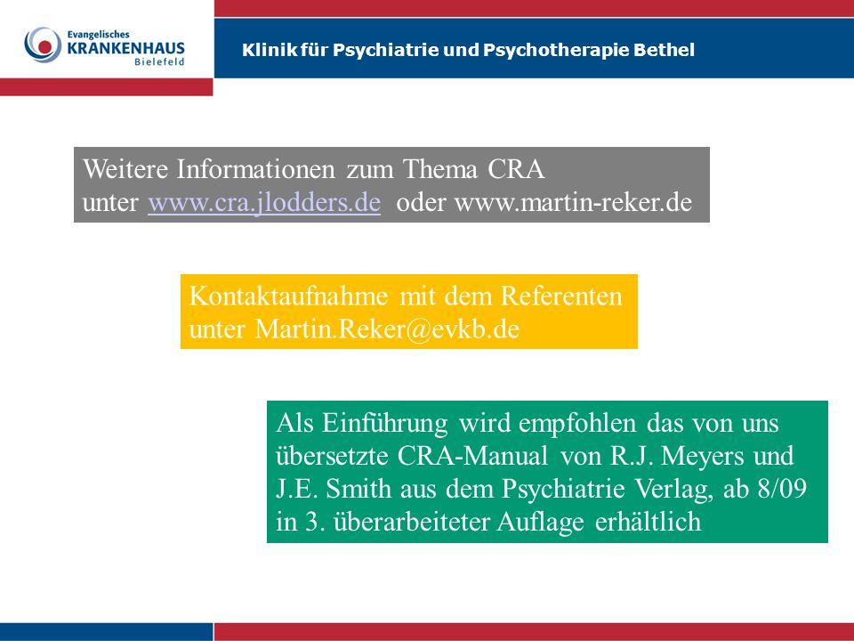 Weitere Informationen zum Thema CRA