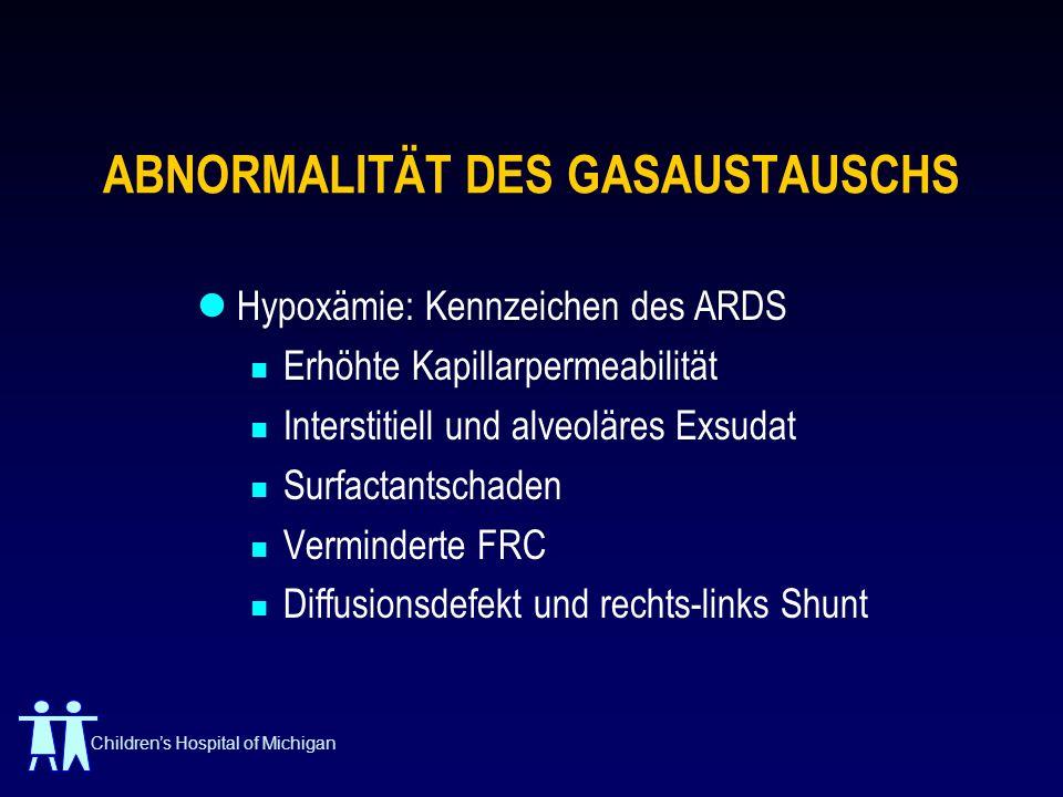 ABNORMALITÄT DES GASAUSTAUSCHS
