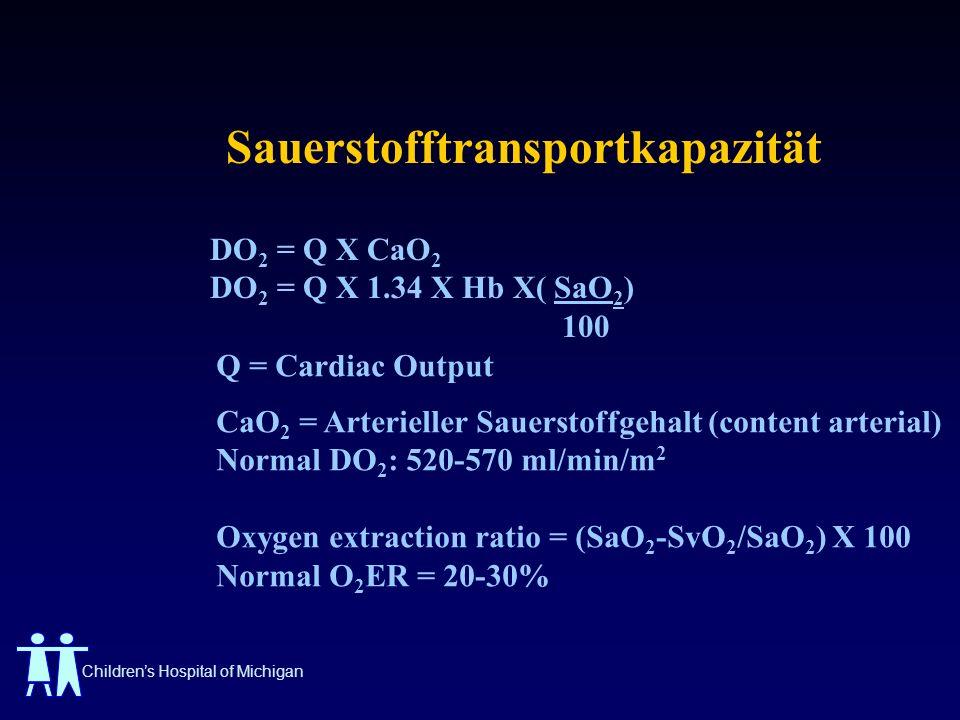Sauerstofftransportkapazität
