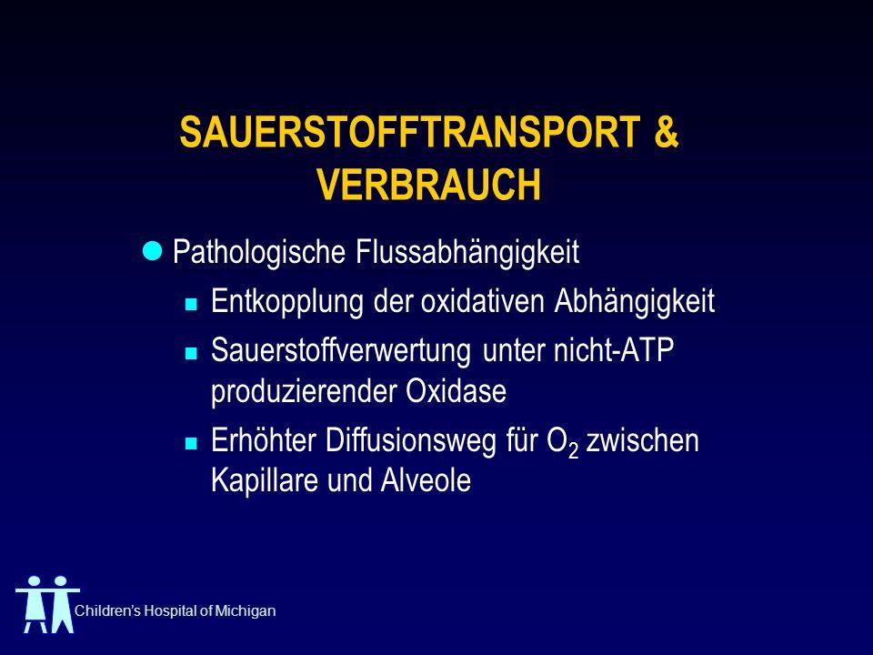 SAUERSTOFFTRANSPORT & VERBRAUCH