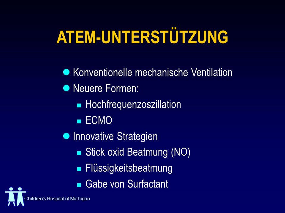 ATEM-UNTERSTÜTZUNG Konventionelle mechanische Ventilation