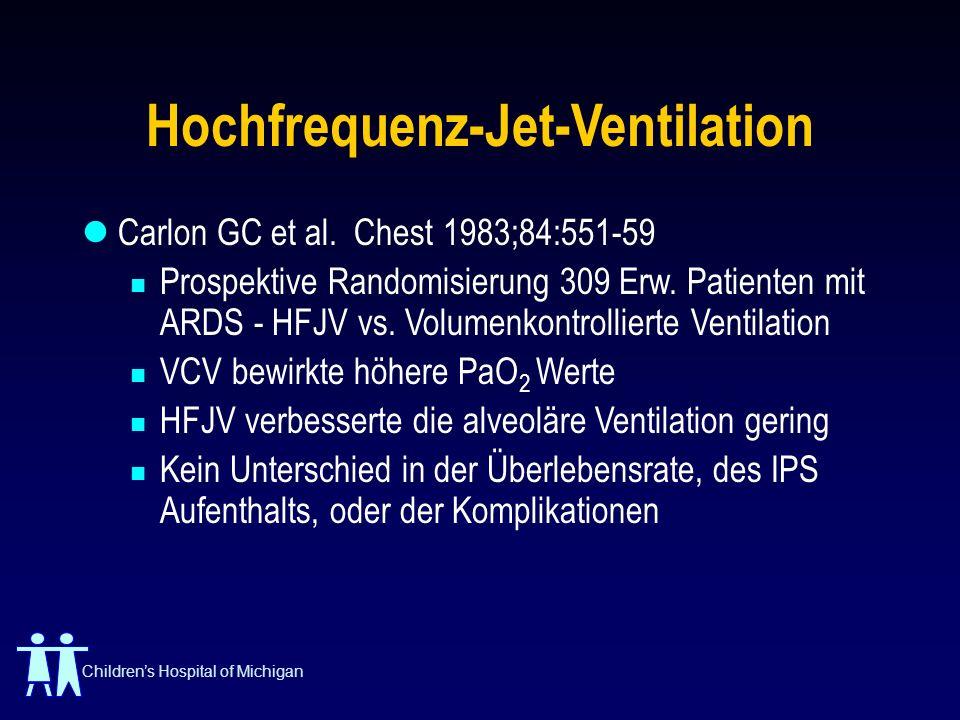 Hochfrequenz-Jet-Ventilation