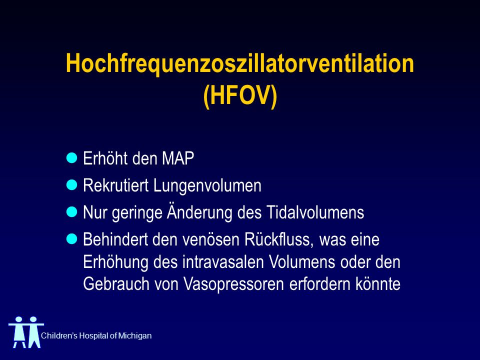 Hochfrequenzoszillatorventilation (HFOV)