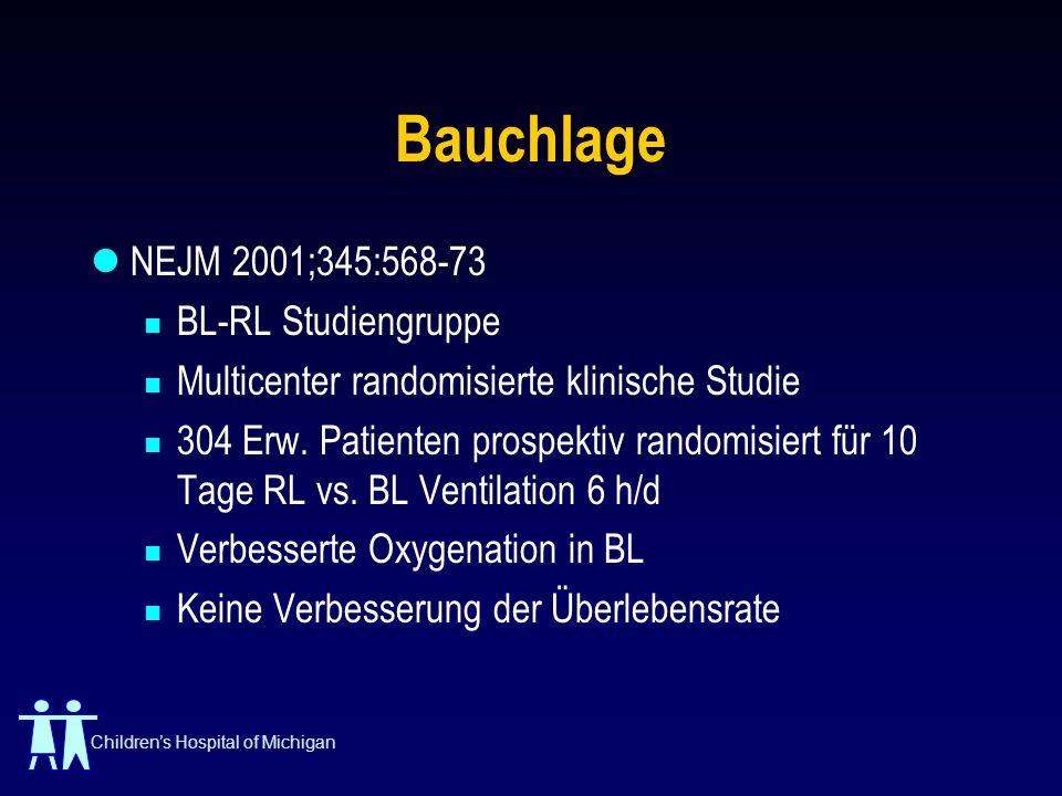Bauchlage NEJM 2001;345:568-73 BL-RL Studiengruppe