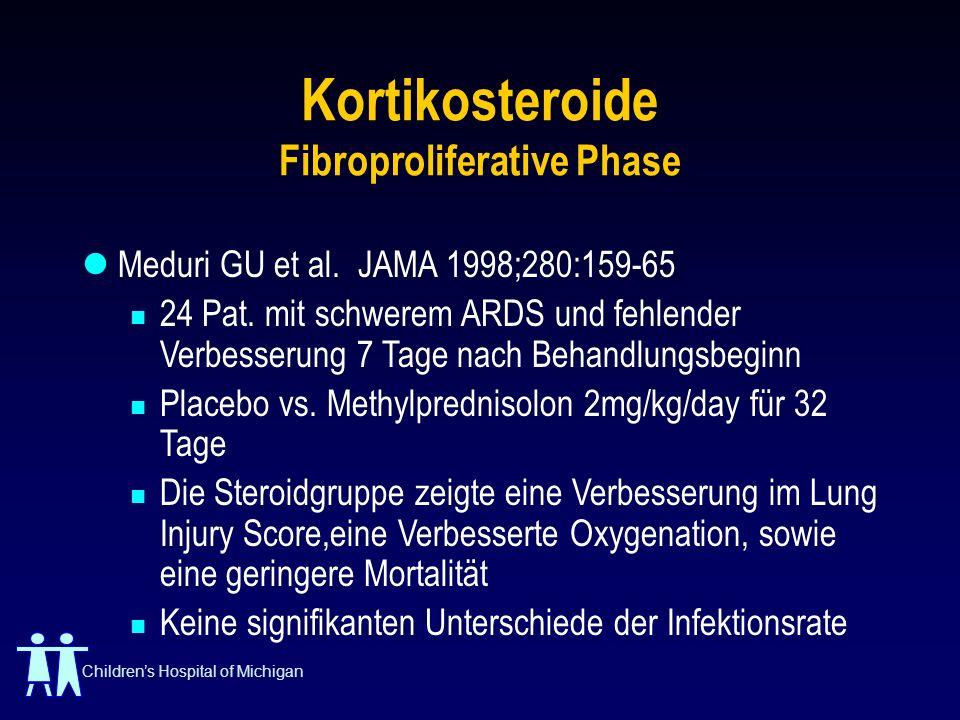Kortikosteroide Fibroproliferative Phase