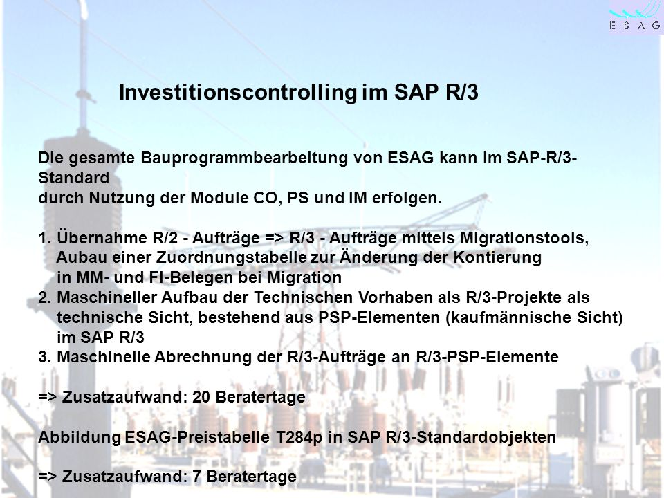 Investitionscontrolling im SAP R/3