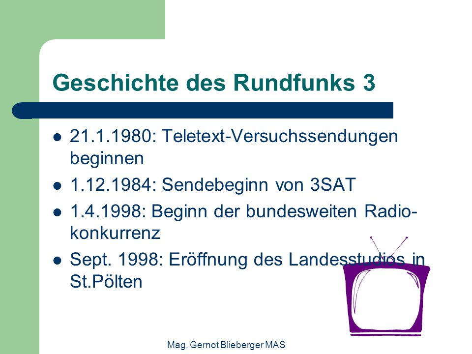 Geschichte des Rundfunks 3
