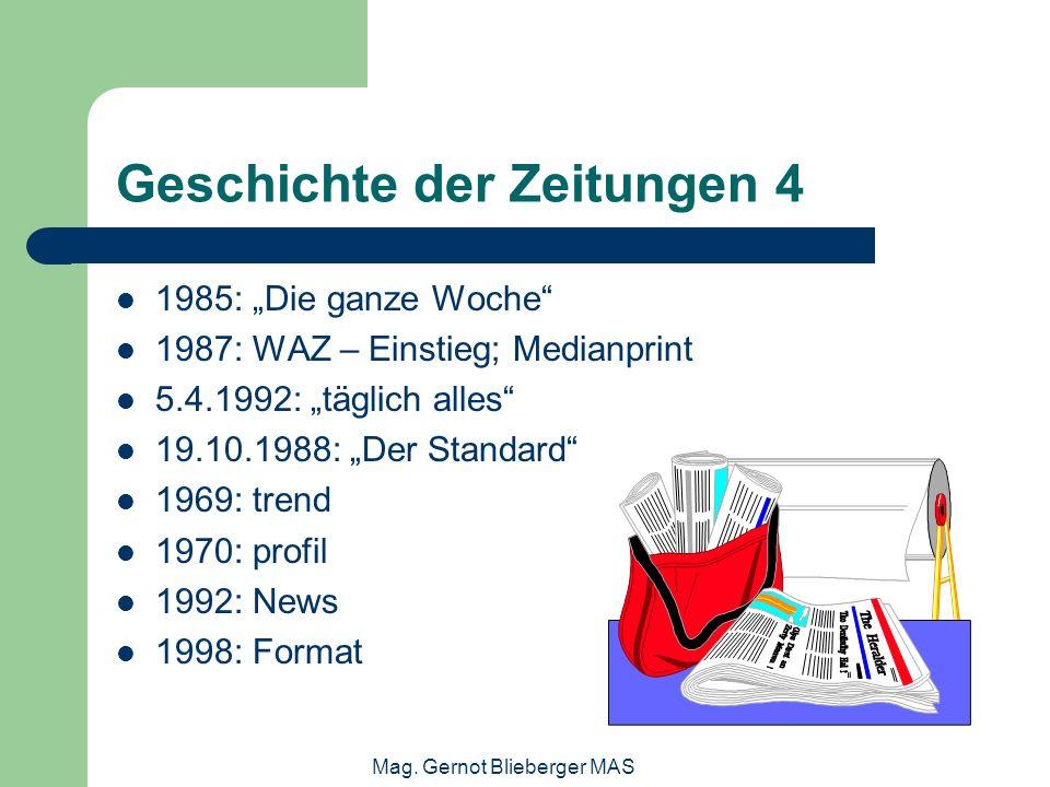 Geschichte der Zeitungen 4