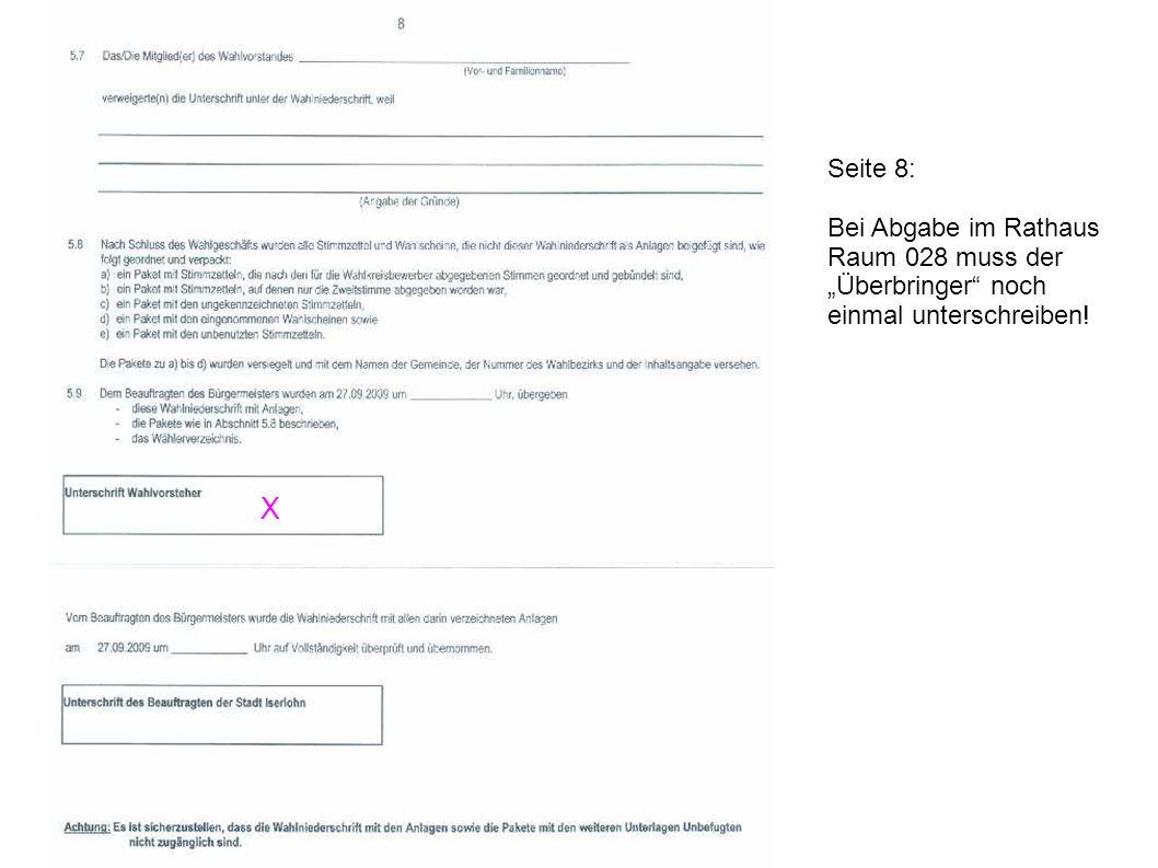 """X Seite 8: Bei Abgabe im Rathaus Raum 028 muss der """"Überbringer noch"""