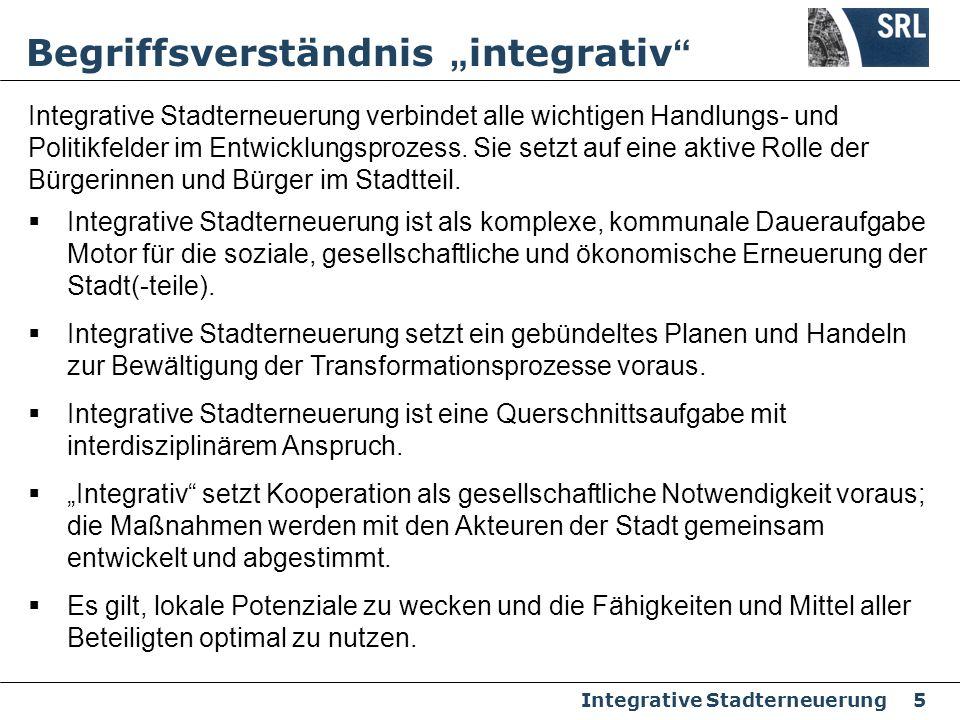 """Begriffsverständnis """"integrativ"""