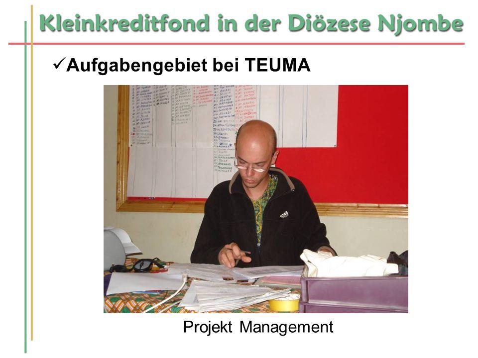Aufgabengebiet bei TEUMA