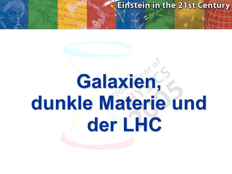 dunkle Materie und der LHC