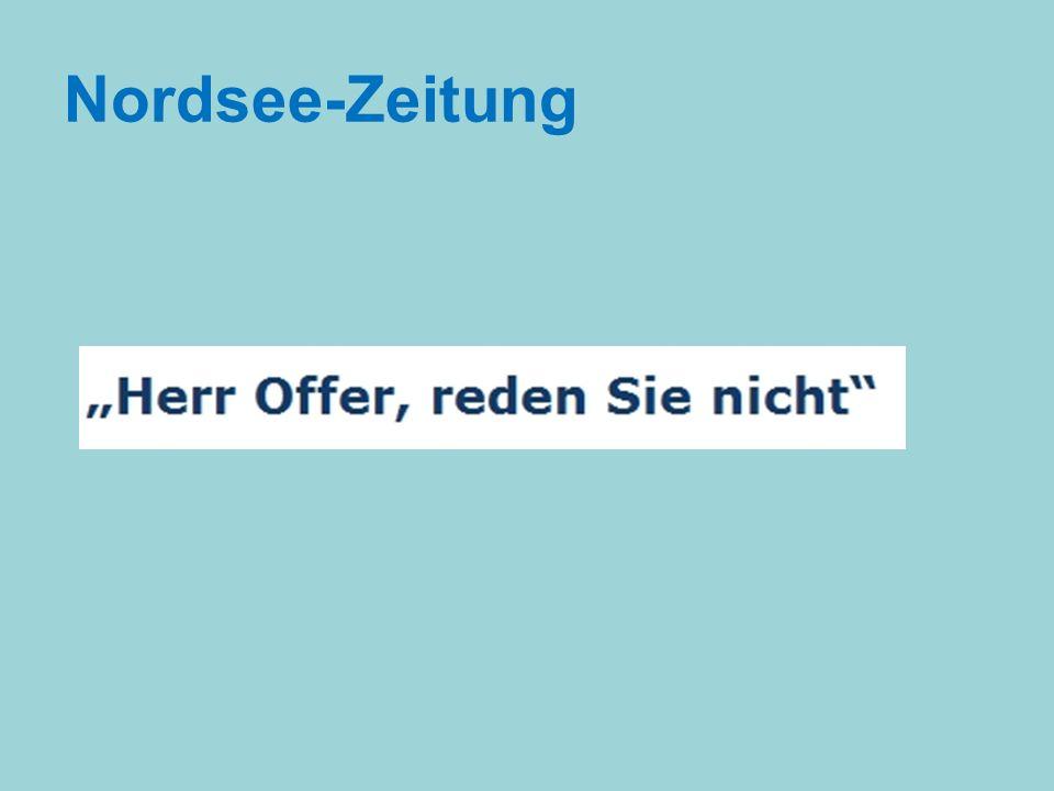 Nordsee-Zeitung