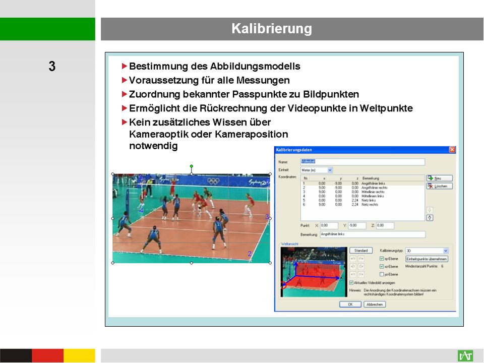 Kalibrierung 3 AVI: 196,0 MB WMV: 6,6 MB AVI: 196,0 MB WMV: 34,7 MB
