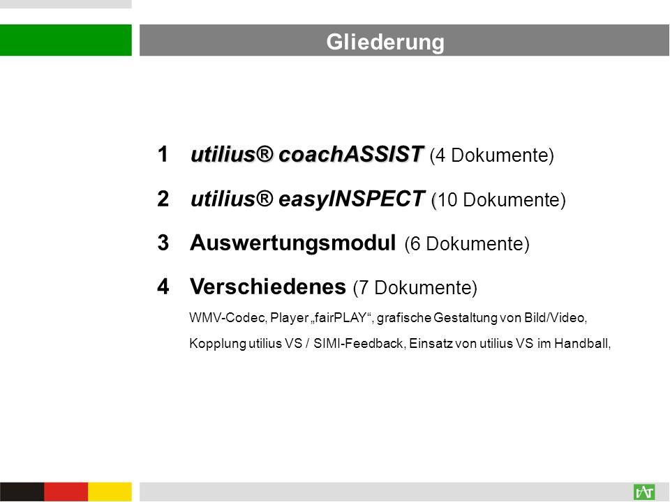 1 utilius® coachASSIST (4 Dokumente)