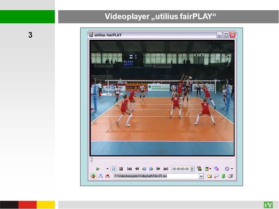 "Videoplayer ""utilius fairPLAY"