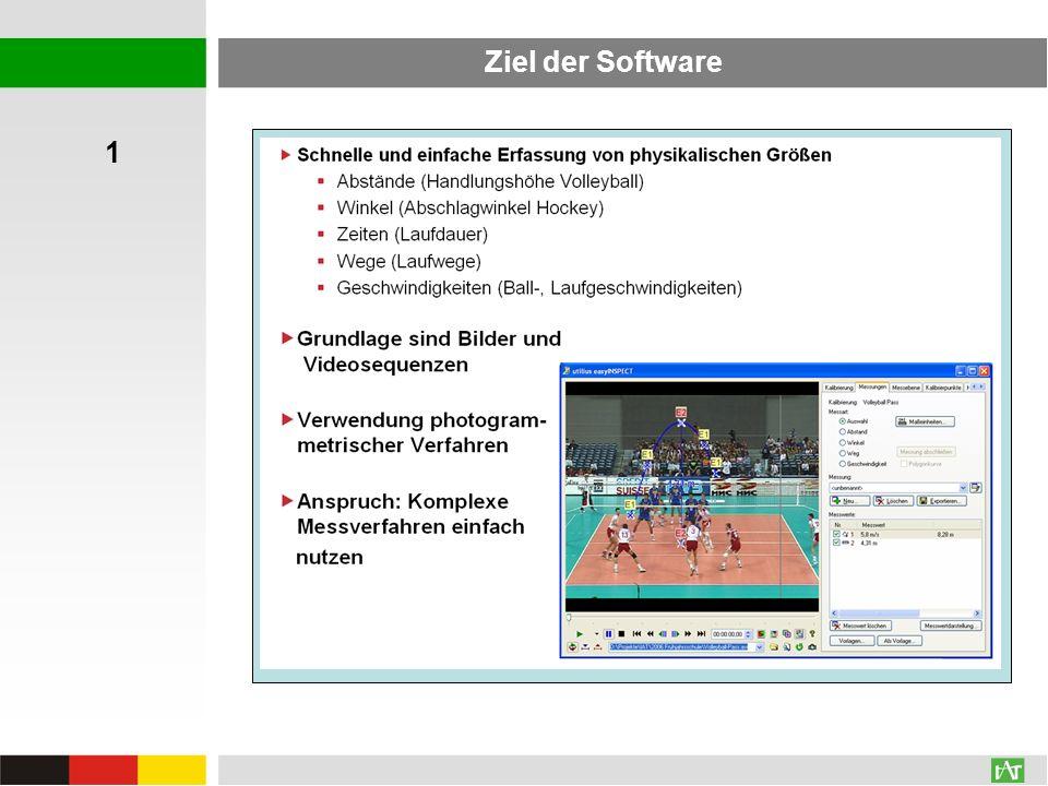 Ziel der Software 1