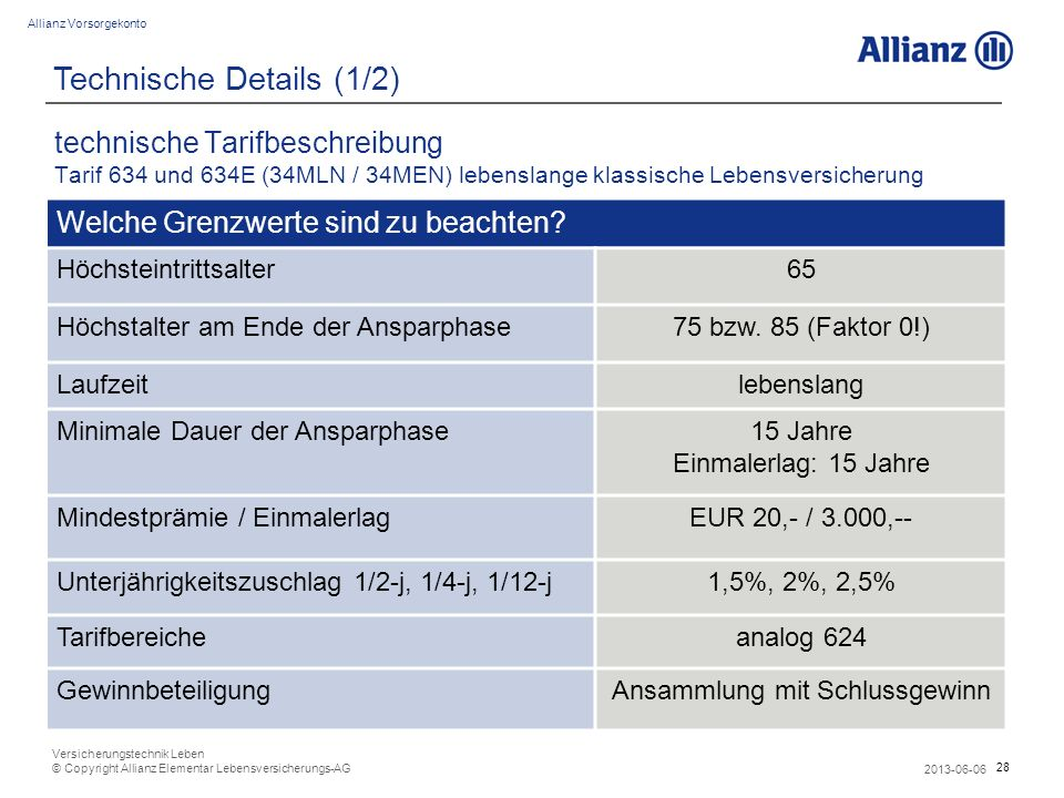 Technische Details (1/2)