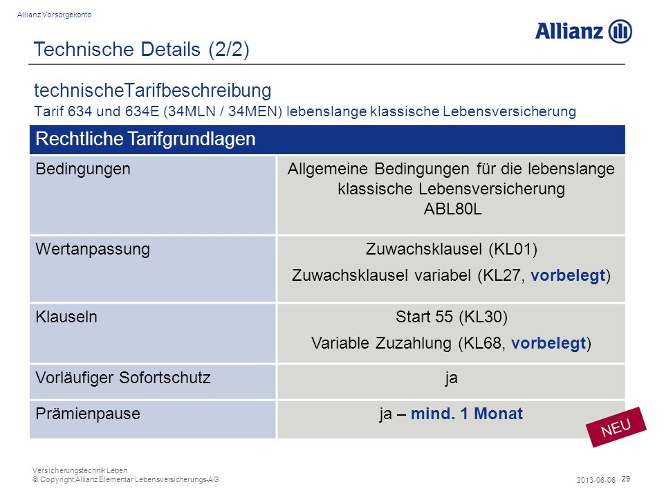 Technische Details (2/2)