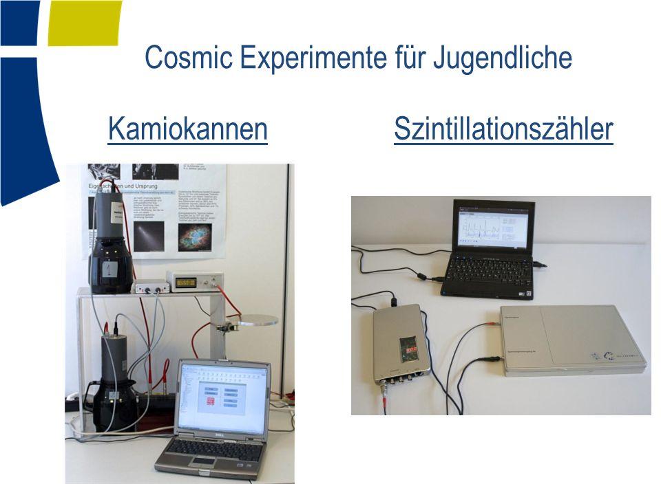 Cosmic Experimente für Jugendliche