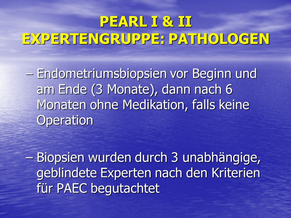 EXPERTENGRUPPE: PATHOLOGEN