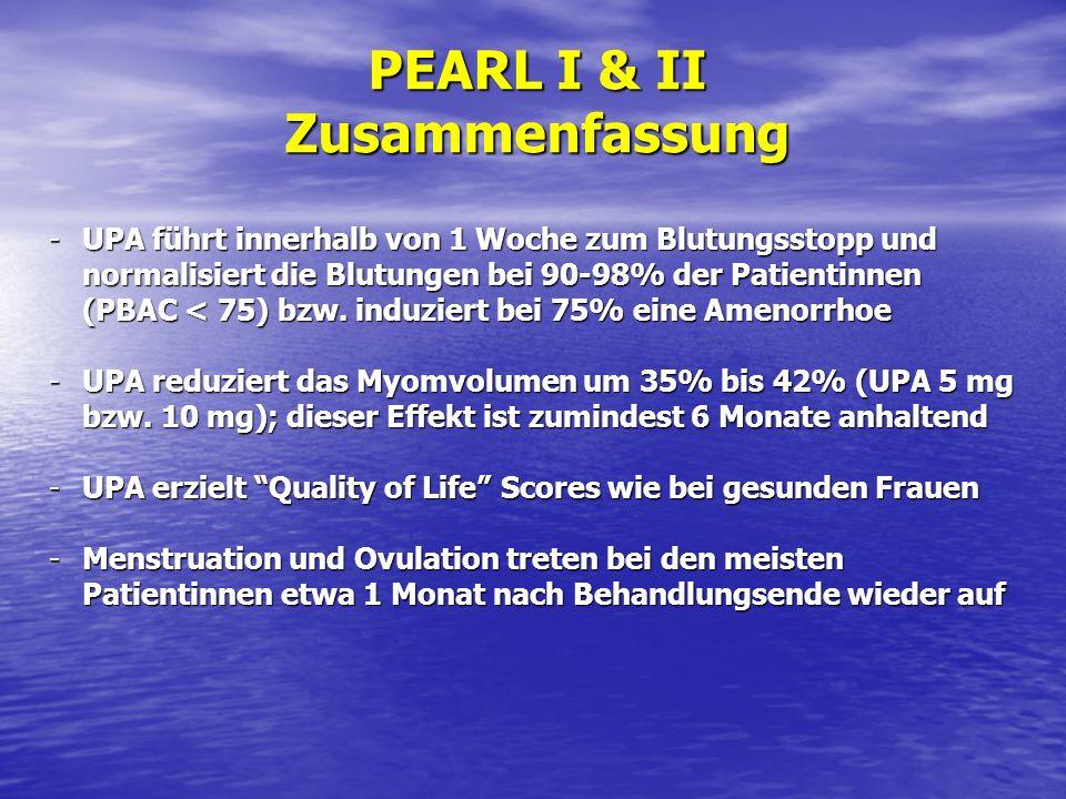 PEARL I & II Zusammenfassung