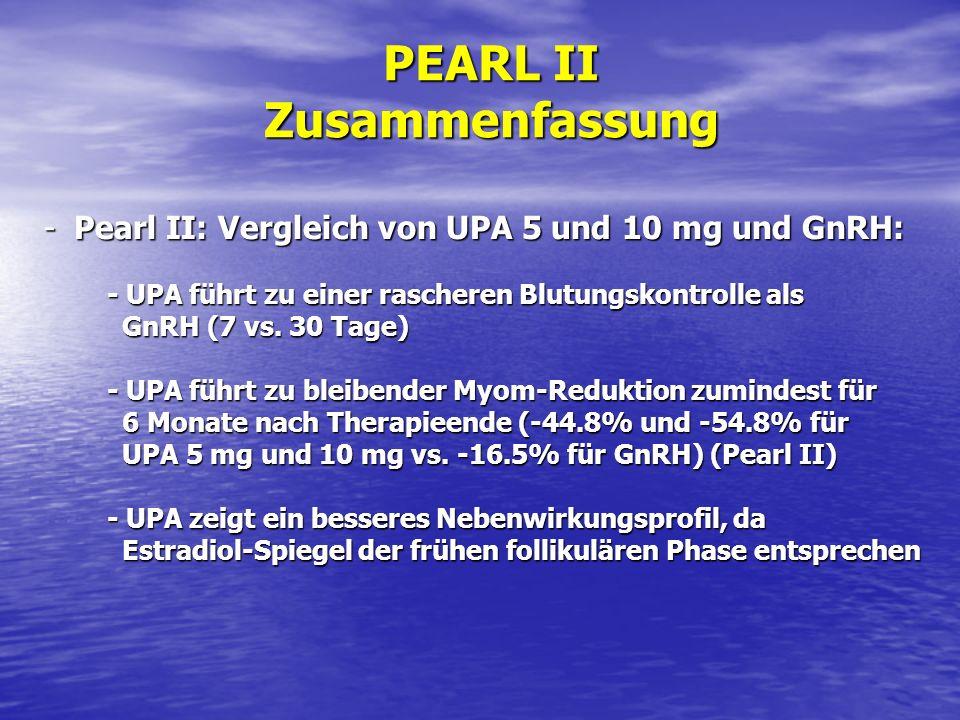 PEARL II Zusammenfassung