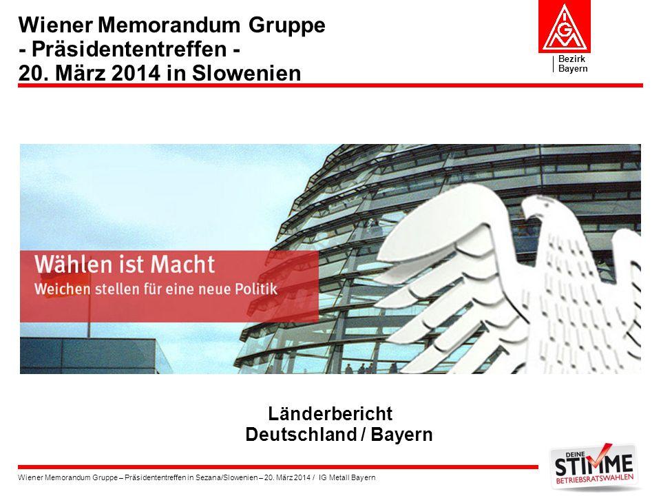Länderbericht Deutschland / Bayern