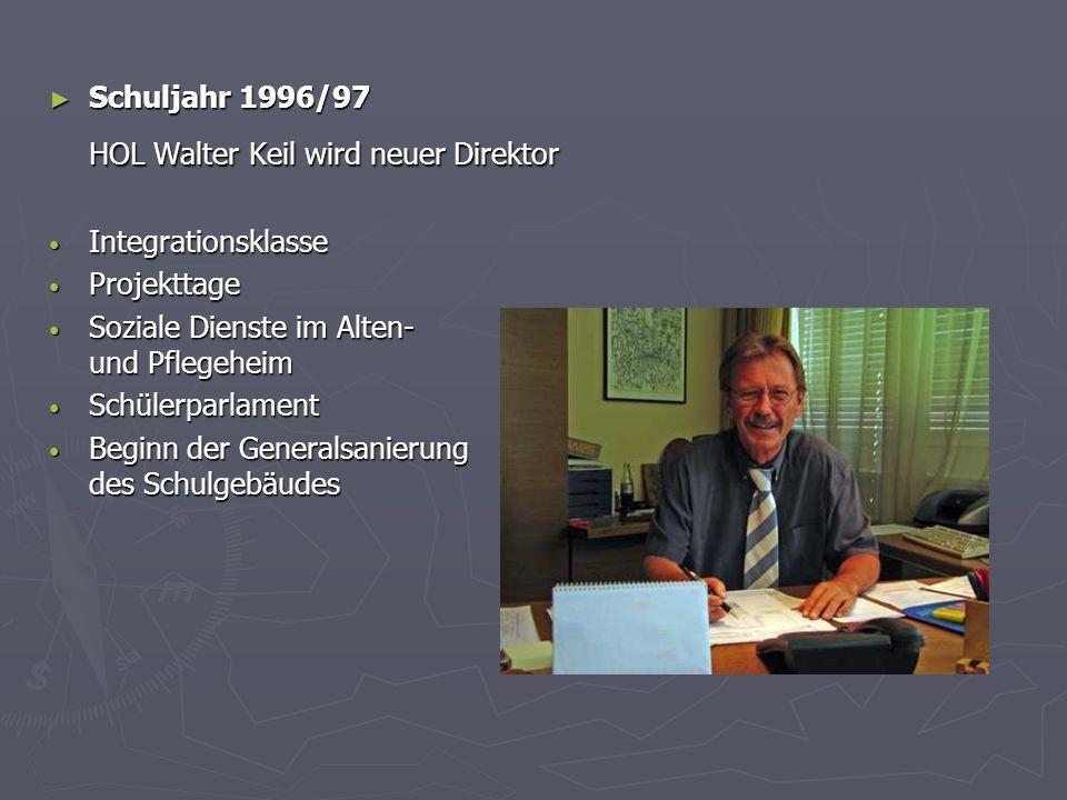 HOL Walter Keil wird neuer Direktor