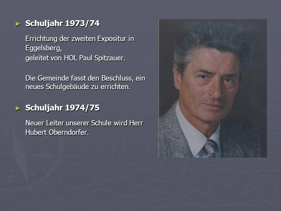Errichtung der zweiten Expositur in Eggelsberg,