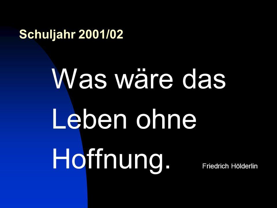 Hoffnung. Friedrich Hölderlin