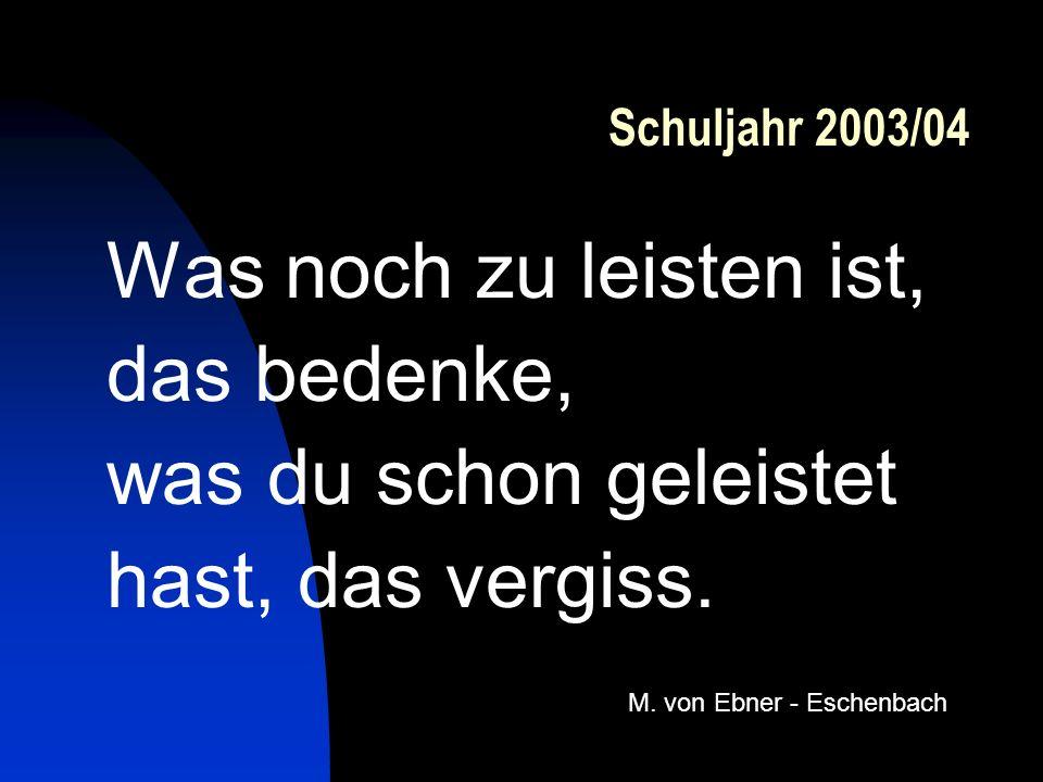 M. von Ebner - Eschenbach