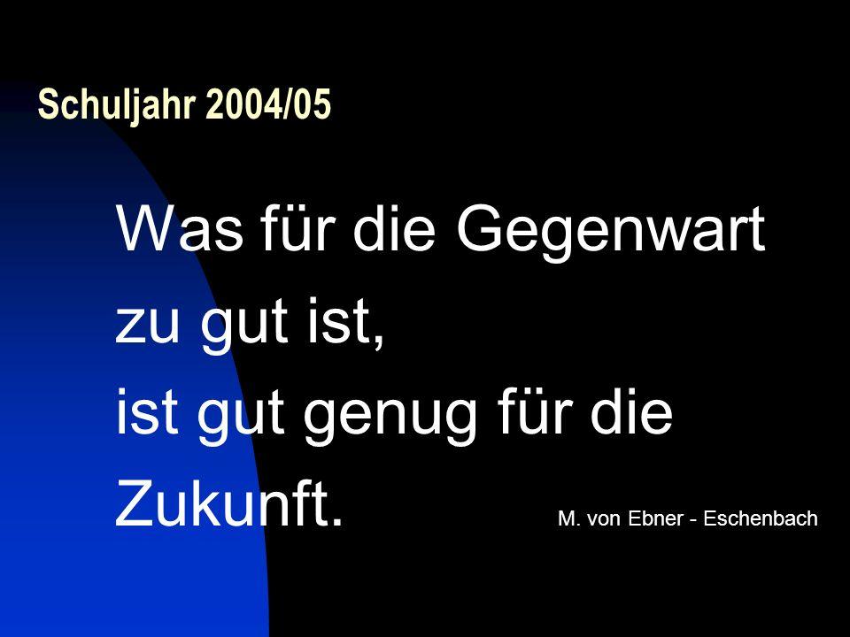 Zukunft. M. von Ebner - Eschenbach
