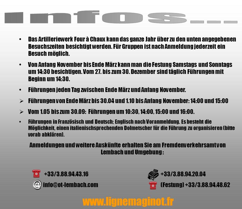 Infos... www.lignemaginot.fr