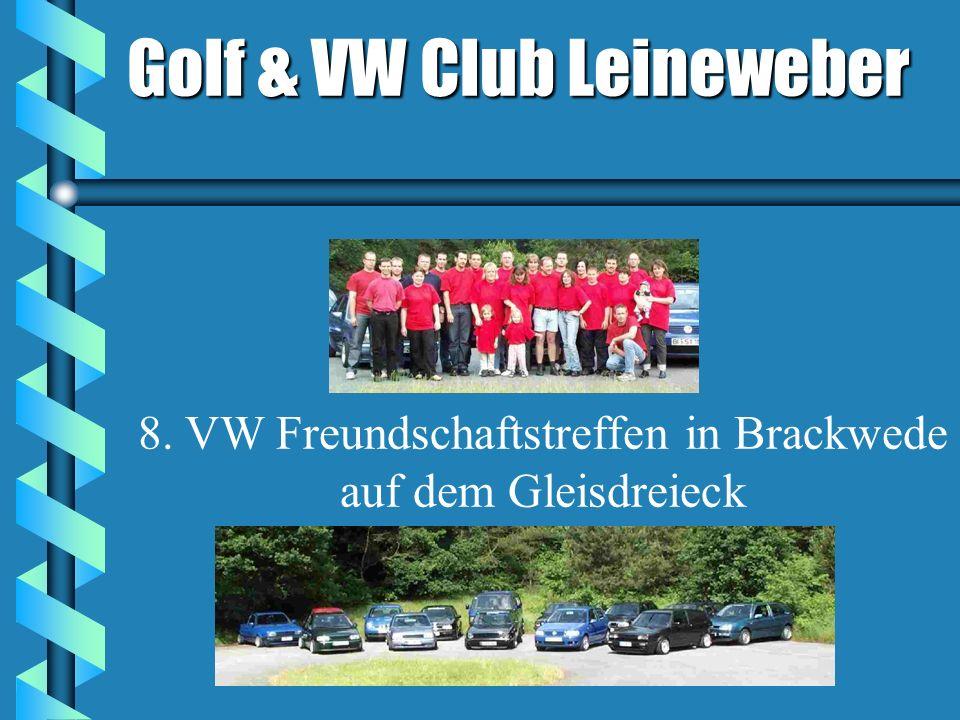 8. VW Freundschaftstreffen in Brackwede